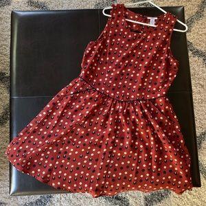 Bar III sleeveless dress XL NWT